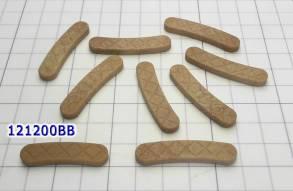 """Комплект """"сухарей"""" корзины сцепления из 9-ти штук, с увеличенной площа (Комплекты подшипников) для DCT450 / MPS6, DCT47...."""