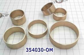 Комплект (6 шт) точёных бронзовых втулок,TF80-SC / TF81-SC (AWF21), Fo (BUSHING KITS) для TF-80SC \81SC, \TF70...