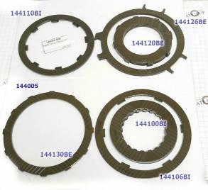 Комплект односторонних фрикционных дисков для всей АКПП, DP0 / AL-4 / (FR/ST MODULES) для DP0 (AL4)