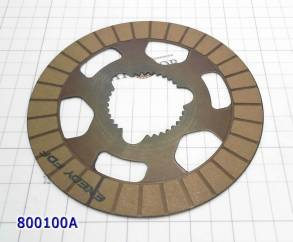 Фрикционный диск раздаточной коробки ATC13 (27Tx1,6x134) BMW X5 - 233B (FRICTIONS) для