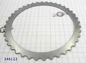 Стальной диск, U660E / U760E C2 (4-5-6) Direct (40Tx2,16x144,11) 2006- (STEELS) для U760E, U660E, U760E