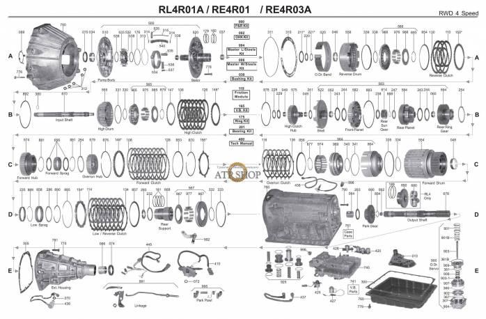 акпп R4A-EL 929 MPV (VAN) PICKUP RX7