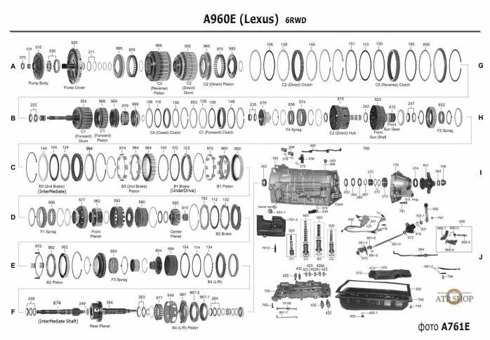акпп A960E HILUX SW4 MARK X GS300 IS250 IS300 TACOMA 86 HIACE HILUX INNOVA MARK...
