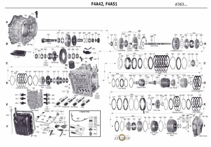 акпп F4A51-2/ F4A5A/ W4A5A SEBRING STRATUS CHARIOT GRANDIS COLT PLUS DIAMANTE EC...